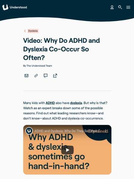 ADHD-Dyslexia
