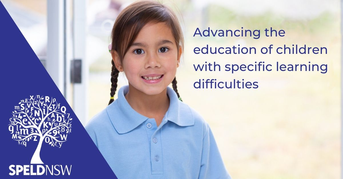 SPELD NSW - supporting children with dyslexia