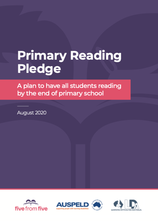 Primary Reading Pledge
