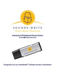 Sounds Write - Interactive Whiteboard USB - Initial and Extended Code
