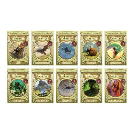 Dandelion Catch-up Readers Talisman Card Games - Boxes 1 to 10 (DTG1-10)