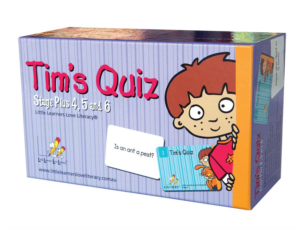 Tim's Quiz  LLTQ456