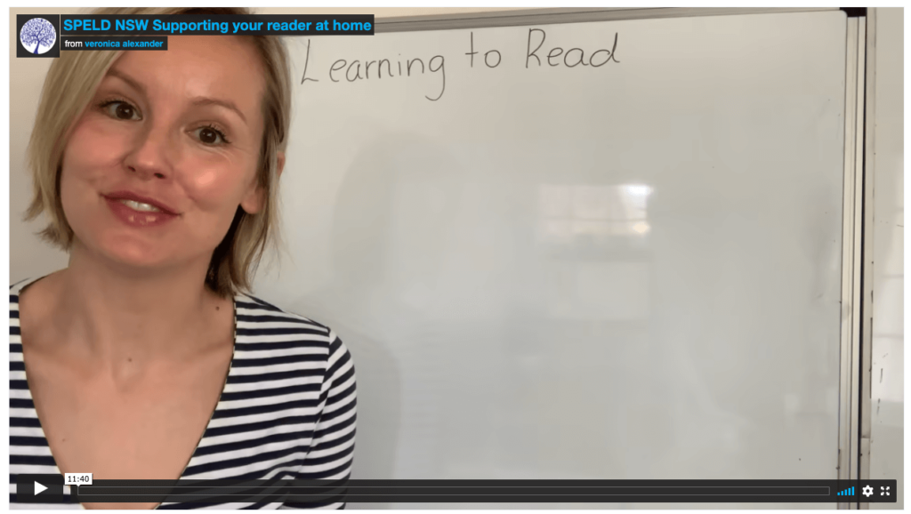 Helping your child with reading at home SPELD NSW