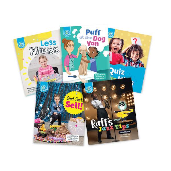 Little Learners, Big World Nonfiction Stage 4 Plus (LLN4P)