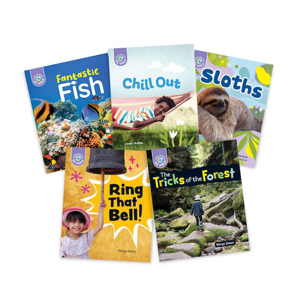Little Learners, Big World Nonfiction Stage 6 (LLN6)