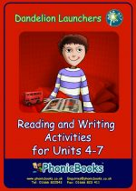 Reading and Writing Activities for Units 4-7  DWR12