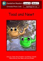 'Toad and Newt' Level 4 (14 Books) DDR16