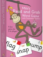 Milo's Read and Grab Game – Set 3, Pink  LLMG3