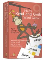 Milo's Read and Grab Game – Set 9, Coral  LLMG9