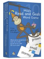 Milo's Read and Grab Game – Set 10, Blue LLMG10