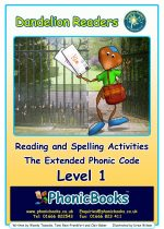 Reading and Spelling Activities <br> Level 1 'The Mail'  DWR1