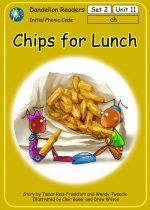 'Chips for Lunch' Set 2 Units 11-20 (10 Books)  DDR5