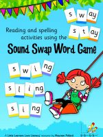 Sound Swap Word Game plus Word Chain Book  LLSSW