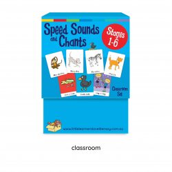 Speed Sound Cards, Stage 1-6, Classroom Size  LLSSC1M