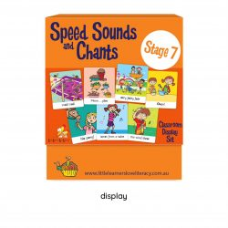 Speed Sound Cards, Stage 7, Classroom Display Size  LLSSC7P