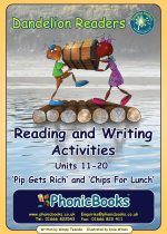 Reading and Writing Activities for Units 11-20 Sets 1 & 2  DWR3